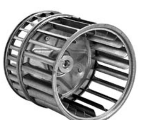 66-1-0438 Double Inlet Blower Wheel