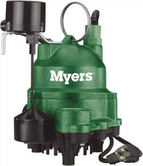 Myers MDC33V1 Cast Iron Sump Pump 1/3HP