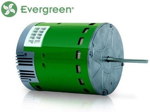 6105E Genteq Evergreen 1/2 HP 115 Volt Replacement X-13 Furnace Blower Motor