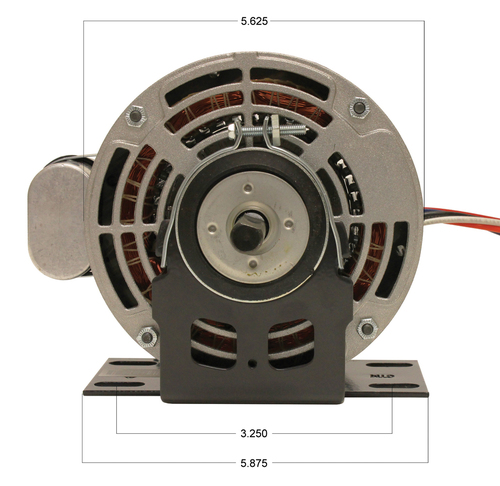 Trane Motor (X70370241010, 5KCP39MGB434X) 1/4 hp 1075 RPM 115V # P9584
