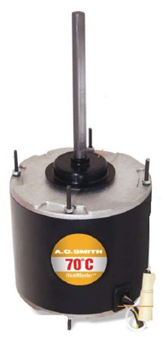 1/4 hp 1075 RPM, 1-Speed, 208-230V, 70°C Condenser Motor Century