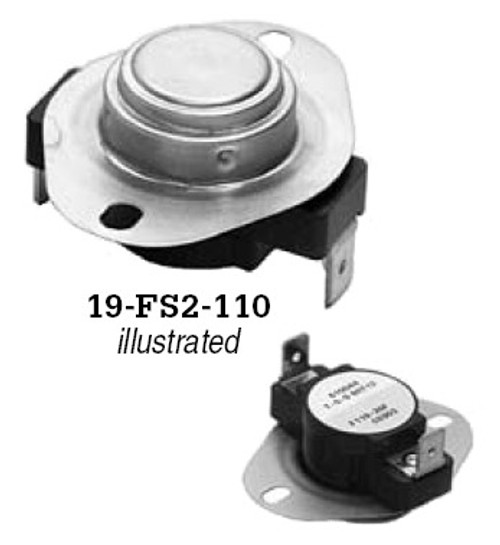 19-FS2-130, Thermal Switch Part, 130 degrees F.
