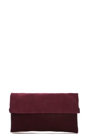 Roll Folding Clutch Messenger Bag