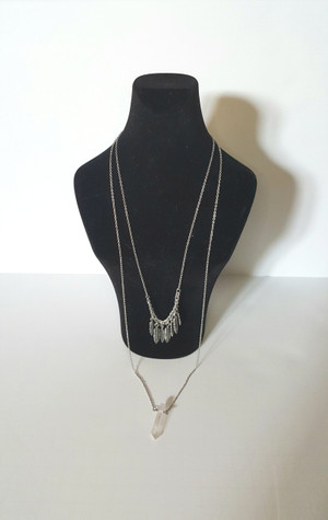 Layer Crystal Necklace