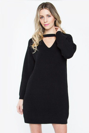 SUZETTE SWEATER DRESS