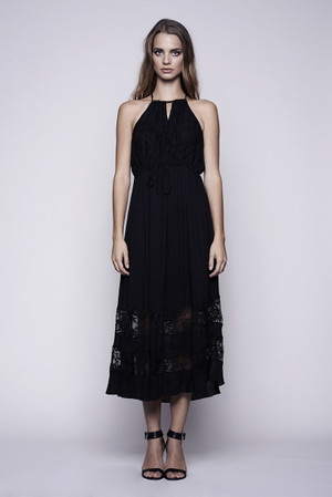 Trim Lace Maxi Dress WYLDR