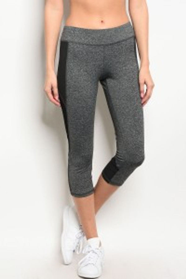 CHARCOAL  ACTIVEWEAR PANTS