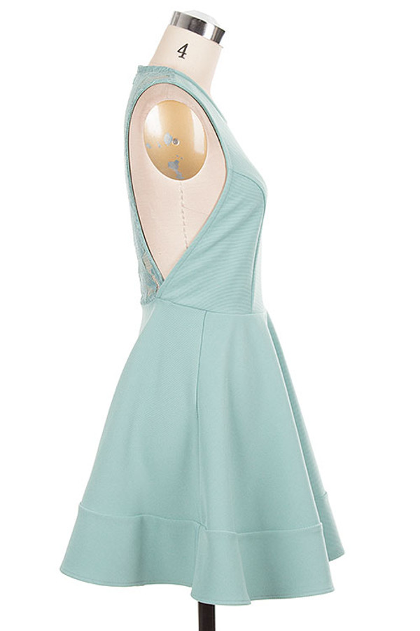 Skater Dress Dusty Mint