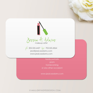 Mascara Business Card