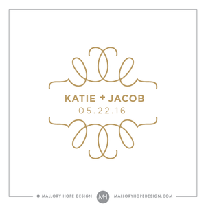 Wedding Logos Mallory Hope Design