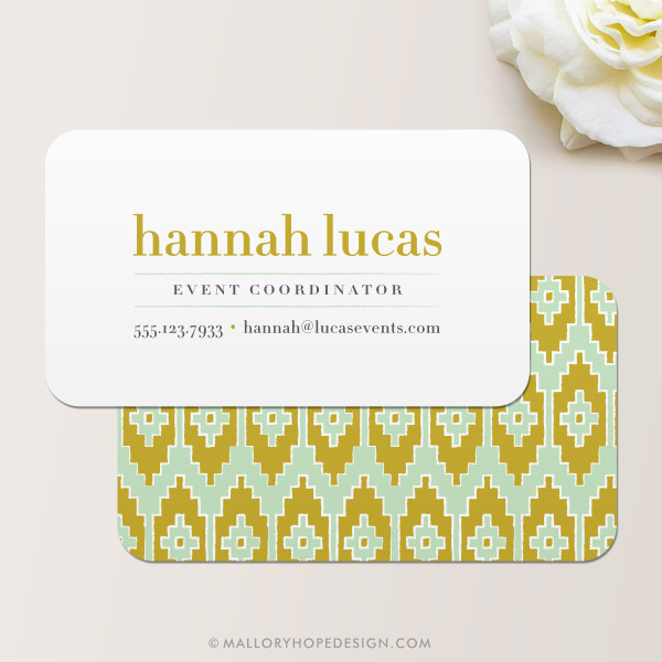 Ikat Business Card