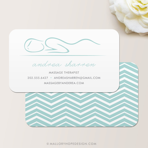 Masseuse Business Card