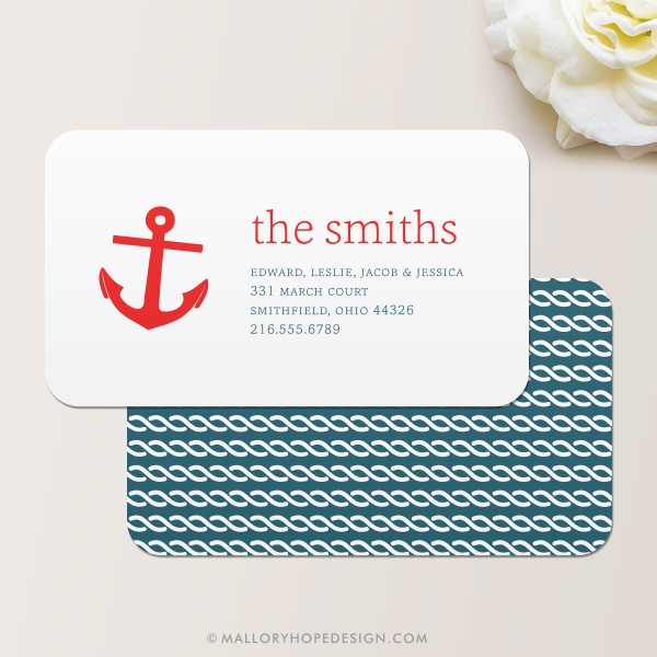 Anchor Business Card