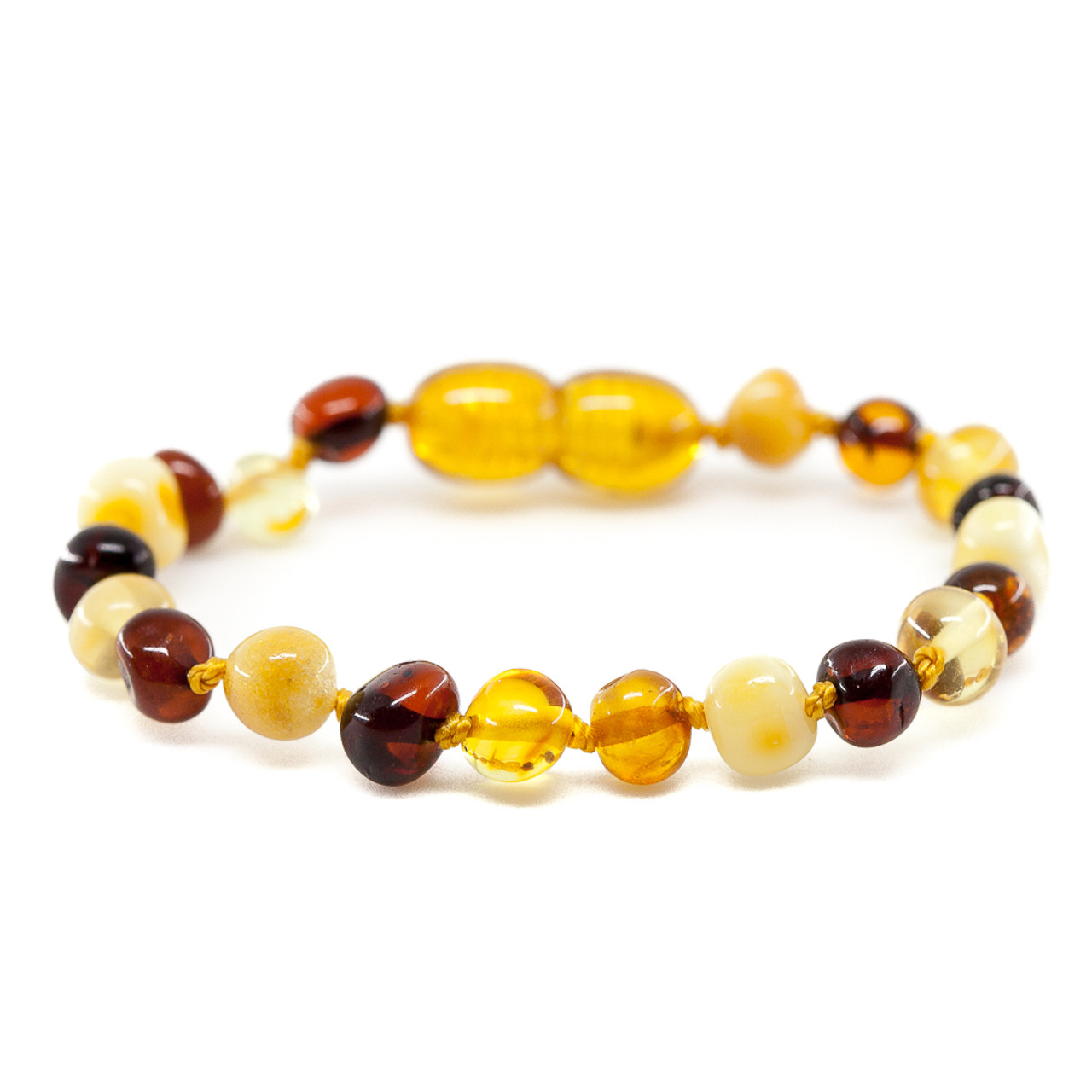 anklet making honey product baltic amber raw