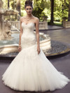 Sweetheart Embroidered Lace And Satin Bridal Gown Casablanca 2116
