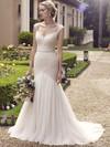 Casablanca 2234 Beaded Tank Straps Wedding Dress