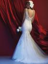 Allure Couture C369 V-neck Beaded Wedding Dress