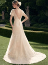 Casablanca 2178 Embroidered Tulle Wedding Dress