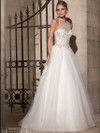 High Nick Beaded With Tulle Ball Gown Mori Lee Wedding Dress 2711
