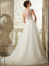 Sweetheart Lace With Tulle Ball Gown Morilee Blu Wedding Dress 5315