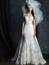 Allure Couture C387 Sweetheart Wedding Dress