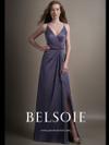 Belsoie L194015 V-neck Bridesmaid Dress