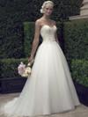Casablanca 2191 Plunging Sweetheart Wedding Dress