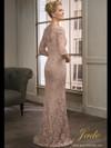 Jade Couture K198013 Scoop Neckline Mother Of The Bride