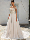 Justin Alexander 8957 Off The Shoulder Wedding Dress