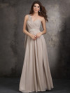 One Shoulder A-Line Allure Bridesmaids Dress 1407