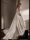 Jasmine T192009 Plunging Neckline Wedding Dress