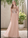 Jasmine B193007 High Neck Bridesmaid Dress