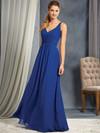 Alfred Angelo 7366L V-neck Bridesmaid Dress
