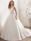 Mori Lee 8123 V-neck Wedding Dress Maribella