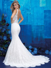 Allure Bridals 9412 V-neck Wedding Gown