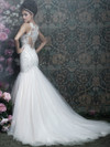 Allure Couture C402 V-neck Wedding Dress