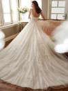 Sophia Tolli Y11719 Illusion Bateau Neckline Monte Wedding Dress