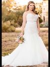Essense Of Australia D2029 Sweetheart Lace Wedding Dress