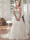 Maggie Sottero Kamiya Sweetheart Pleated Bridal Gown