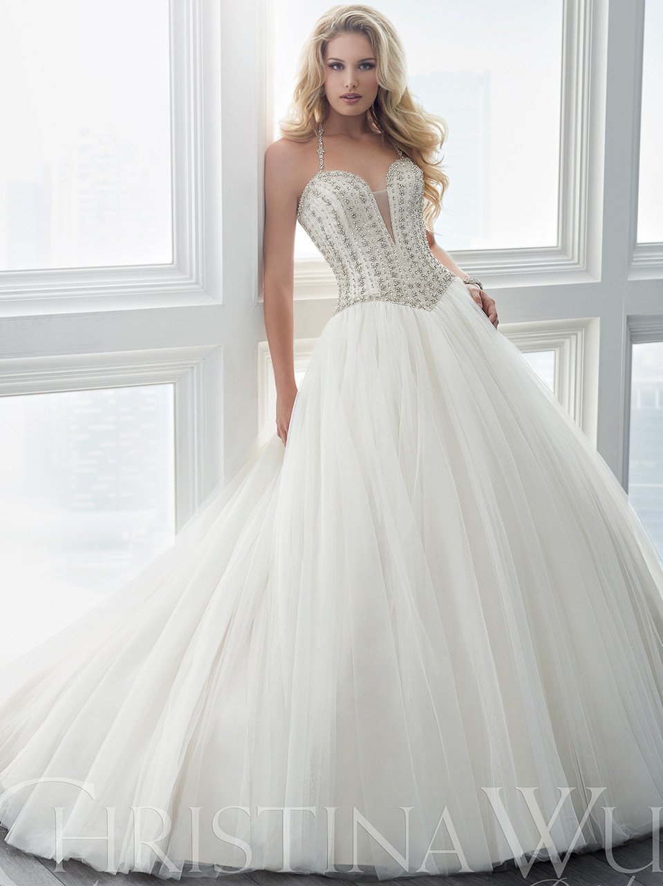 Christina Wu 15616 Sweetheart Wedding Dress - Dimitra Designs