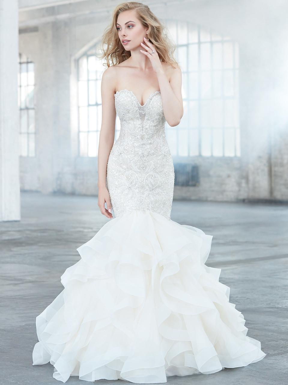 Madison James MJ301 Sweetheart Wedding Dress - Dimitra Designs