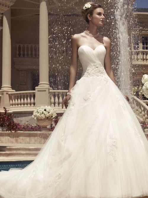 Sweetheart Beaded Bridal Gown Casablanca 2112