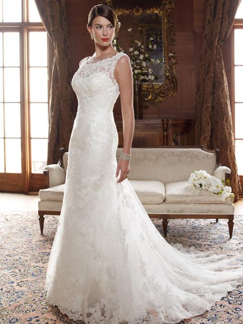 Elegant Casablanca Bridal Gown 2004