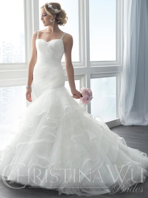 Christina Wu 15631 Sweetheart Wedding Dress