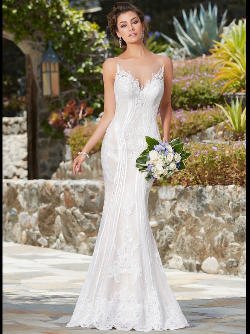 KittyChen Boat Neckline Bridal Gown Ivana