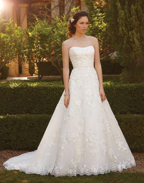 Stunning A-line Casablanca Bridal Gown 2051