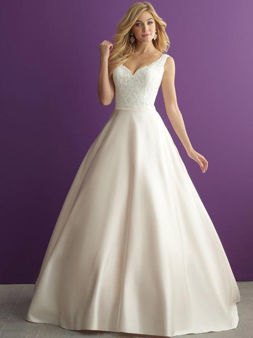 Allure Romance 2951 V-neck Wedding Dress