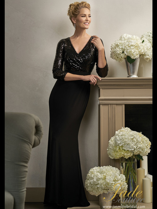 Jade Couture K198004 V-neck Mother Of The Bride
