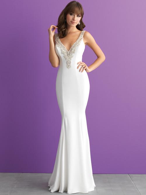 Allure Romance 3013 V-neck Wedding Dress