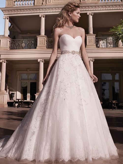 Casablanca 2136 Strapless Sweetheart Wedding Dress